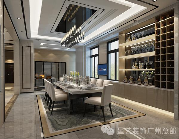 简约 别墅 现代 高富帅 大方 土豪 餐厅图片来自星艺装饰集团广州总部在别墅--高富帅的质感生活的分享