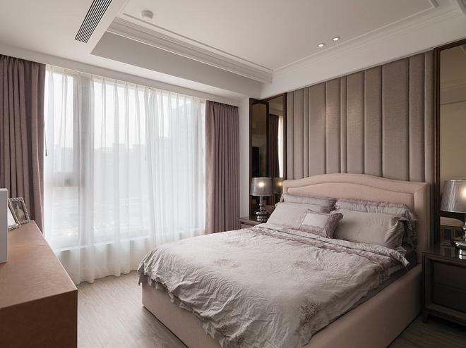 卧龙丽景湾 现代美式 101㎡ 诚臣装饰 二居 卧室图片来自武汉诚臣装饰在卧龙丽景湾现代美式101㎡的分享