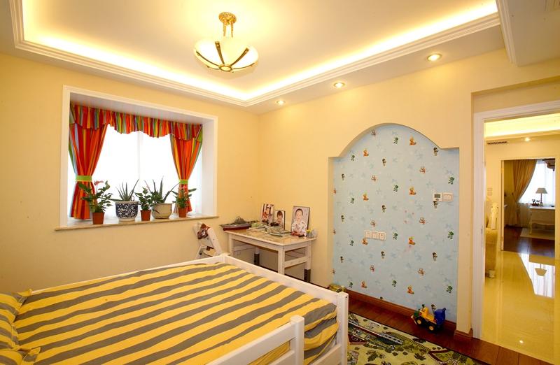 嘉年华装饰 奥山世纪城 现代 99平 三居室 儿童房图片来自武汉嘉年华装饰在奥山世纪城99平的分享