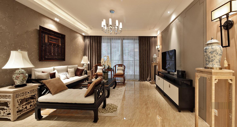 旧房改造 别墅装修 软装配饰 方案设计 客厅图片来自北京别墅装修-紫禁尚品在中式风格-175平米三居室装修设计的分享