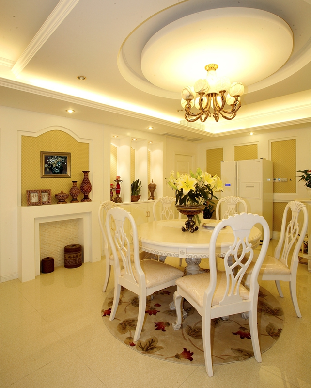 嘉年华装饰 奥山世纪城 现代 99平 三居室 餐厅图片来自武汉嘉年华装饰在奥山世纪城99平的分享
