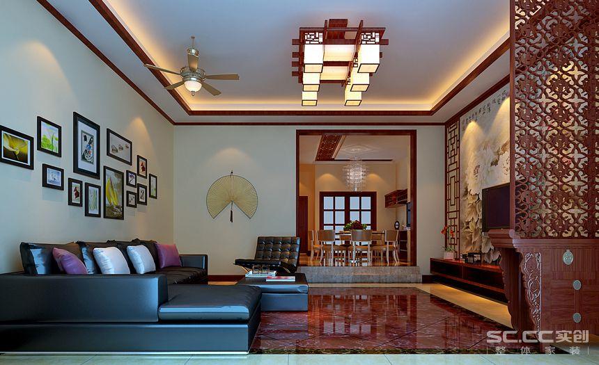 客厅图片来自交换空间刘杨成室内设计师在350平中央公馆的分享