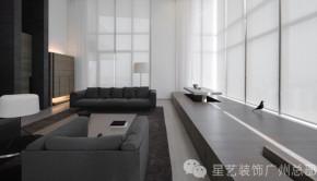 简约 复式 品质 现代 高富帅 客厅图片来自星艺装饰集团广州总部在花都凯旋门的分享