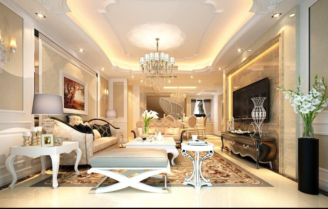 简约 欧式 别墅 卧室图片来自常青树装饰公司在阳光城市的分享