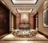 东湖湾三室二厅新中式风格