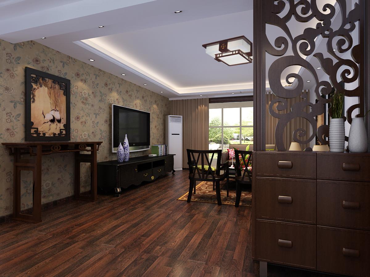 财经政法 四居 中式 客厅图片来自郑州实创装饰啊静在财经政法大学200平中式四居的分享