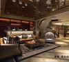嘉定500平别墅户型装修美式古典风格设计方案展示,上海聚通集团腾龙别墅设计师周峻设计案例,欢迎品鉴!
