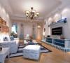 盘古天地公寓装修地中海风格设计
