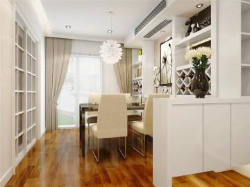 正阳一期名仕家园三居室简欧设计
