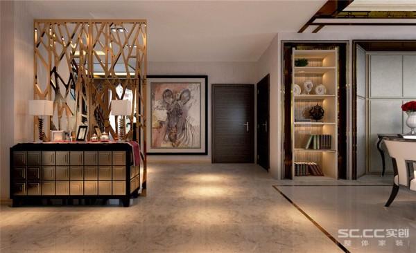 玄关设计: 房之门户玄之关、玄关是房屋的亮点也是本案例的精彩部分