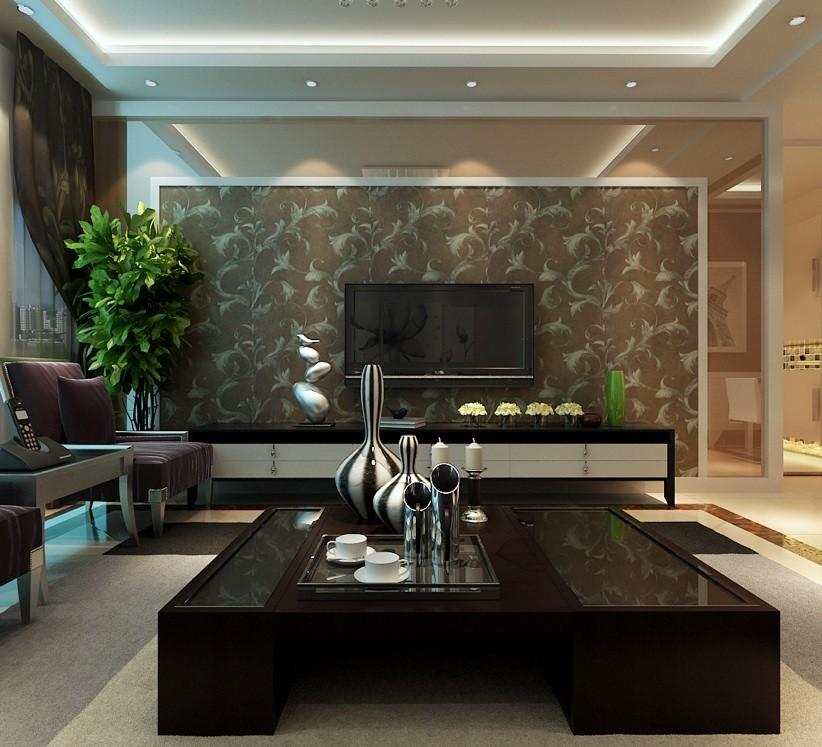龙湖御景 三居 现代 客厅图片来自郑州实创装饰啊静在龙湖御景129平现代三居的分享