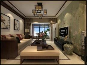中式 稳重 大气 温馨 三居 80后 客厅 餐厅 客厅图片来自德瑞意家装饰小俎在新中式风格案例展示的分享