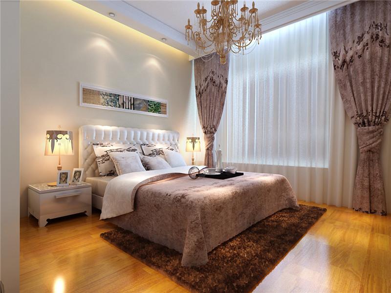 大观国际 混搭 简约 北美 三居 卧室图片来自郑州实创装饰啊静在大观国际100平简约北美三居的分享