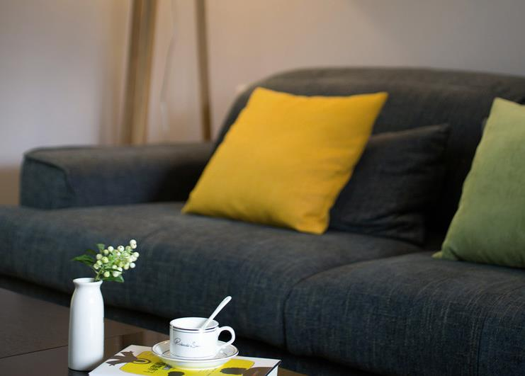 简约 现代 二室一厅 色彩大胆 客厅图片来自佰辰生活装饰在89平现代简约两室一厅的分享