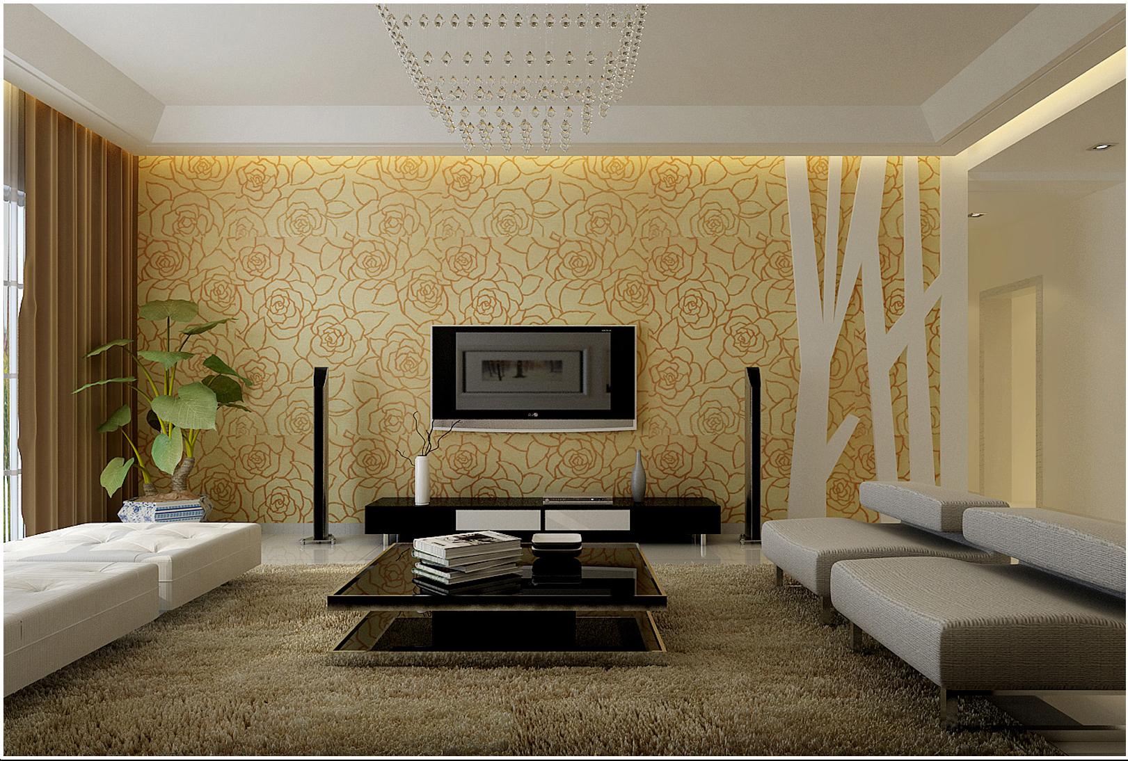 大观国际 现代简约 两居 客厅图片来自郑州实创装饰啊静在大观国际现代简约两居的分享