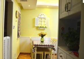 田园 二居 浪漫 温馨 餐厅图片来自佰辰生活装饰在幸福浪漫满屋 79平田园格调的分享