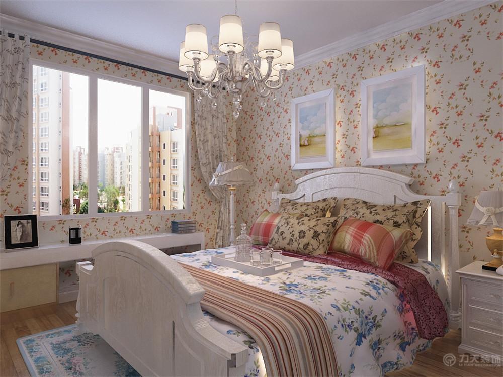 一居 田园 收纳 白领 80后 小资 卧室图片来自阳光力天装饰在力天装饰-宏泰公寓62㎡的分享