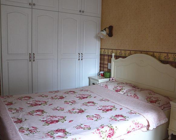 田园 二居 浪漫 温馨 卧室图片来自佰辰生活装饰在幸福浪漫满屋 79平田园格调的分享