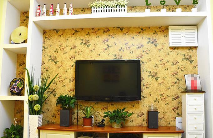 田园 二居 浪漫 温馨 客厅图片来自佰辰生活装饰在幸福浪漫满屋 79平田园格调的分享