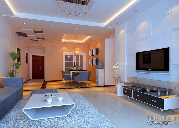 大观国际 现代 一居 客厅图片来自郑州实创装饰啊静在大观国际现代一居的分享