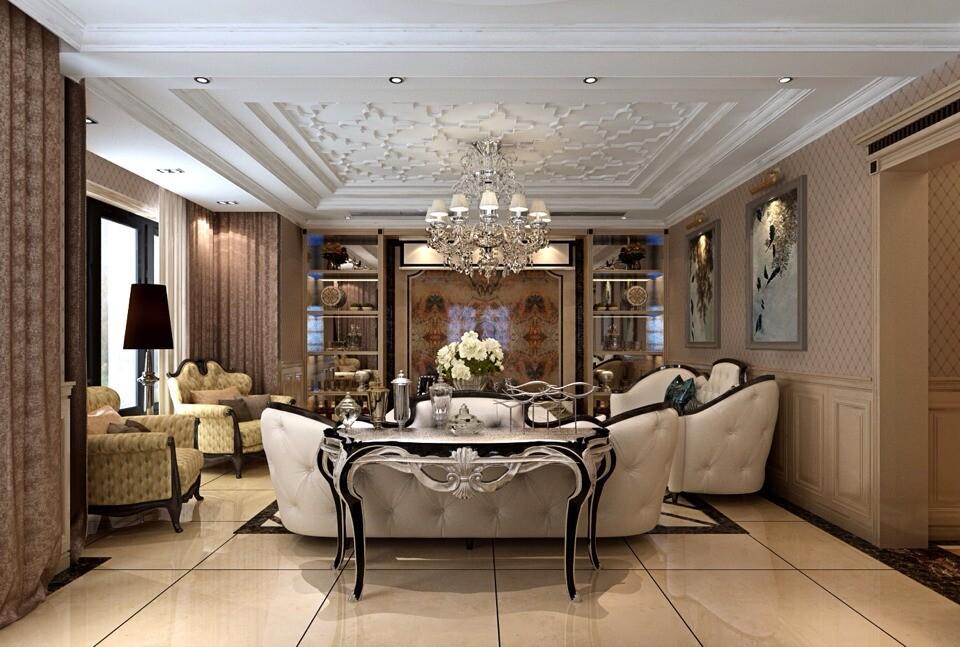 简约 欧式 田园 混搭 二居 三居 别墅 白领 旧房改造 客厅图片来自沪上名家-巩光辉在电业局家属院的分享