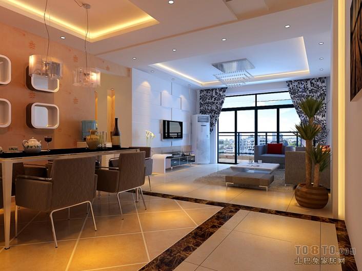 大观国际 现代 一居 餐厅图片来自郑州实创装饰啊静在大观国际现代一居的分享