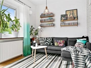 尼德兰花园60平北欧公寓清新设计