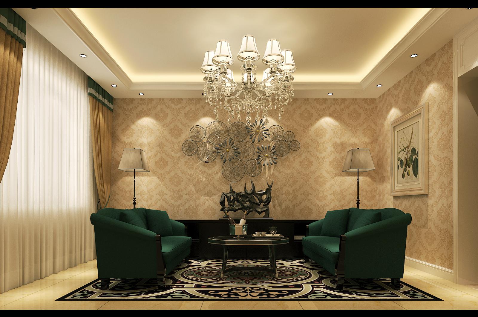 简约 欧式 田园 混搭 二居 三居 别墅 白领 旧房改造 客厅图片来自沪上名家-巩光辉在城东路家属院的分享