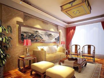 古朴典雅中式四居室