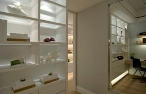 现代 三居 80后 小资 舒适 书房图片来自二手房装修在皇翔玉玺的分享