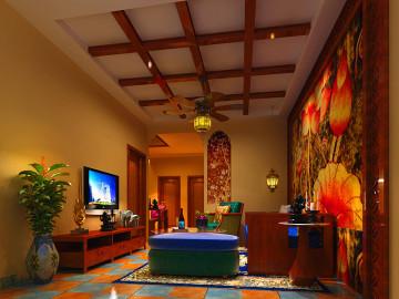 颐慧佳园两居东南亚风格案例