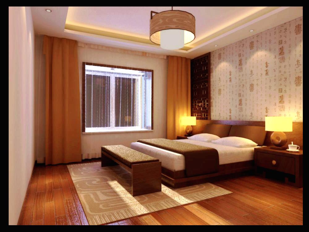 大城小爱 中式 三居 卧室图片来自郑州实创装饰啊静在大城小爱148平中式三居的分享