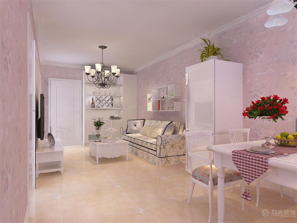 一居 田园 收纳 白领 80后 小资 餐厅图片来自阳光力天装饰在力天装饰-宏泰公寓62㎡的分享
