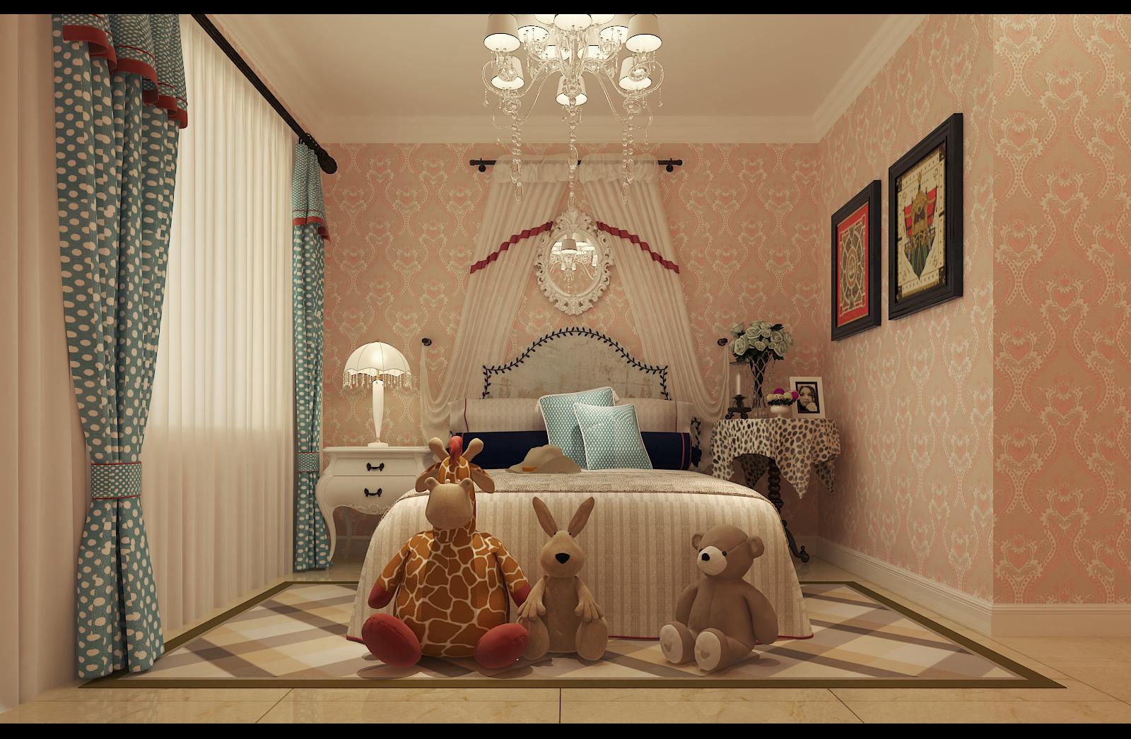 简约 欧式 田园 混搭 二居 三居 别墅 白领 旧房改造 卧室图片来自沪上名家-巩光辉在城东路家属院的分享