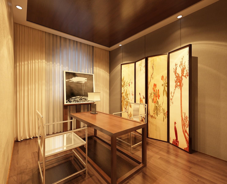 复式 中式 旧房改造 别墅 其他图片来自赵修杰在100平复式案例的分享