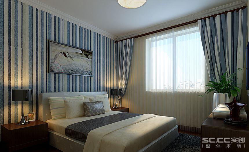 简约 卧室图片来自实创家居装饰在新中式三居的分享