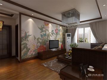 首创城金和园-104㎡-新中式风格