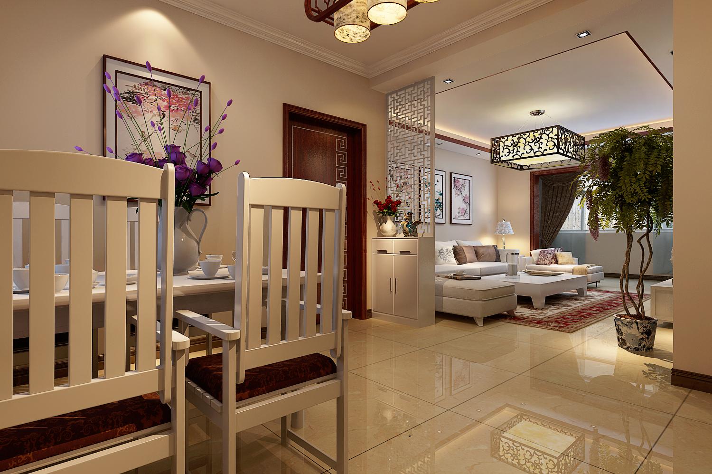 丹石街区 三居 中式 家装 客厅图片来自郑州实创装饰啊静在丹石街区120平简中三居的分享