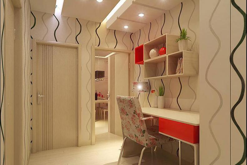 书房图片来自天津印象装饰有限公司在印象装饰 案例赏析2015-6-18的分享