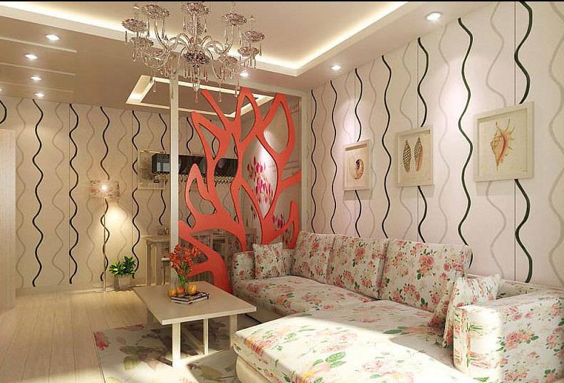 客厅图片来自天津印象装饰有限公司在印象装饰 案例赏析2015-6-18的分享