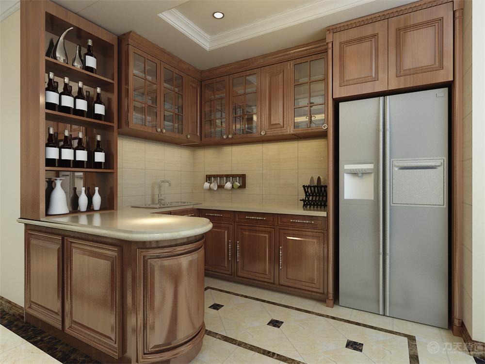 美式 三居 白领 收纳 80后 小资 厨房图片来自阳光力天装饰在力天装饰-华城领秀180㎡的分享