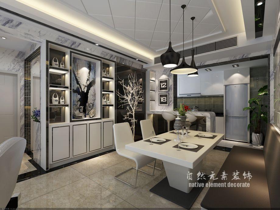 现代 高雅 三居 小资 客厅图片来自自然元素装饰在翡翠海岸——后现代美学展现的分享