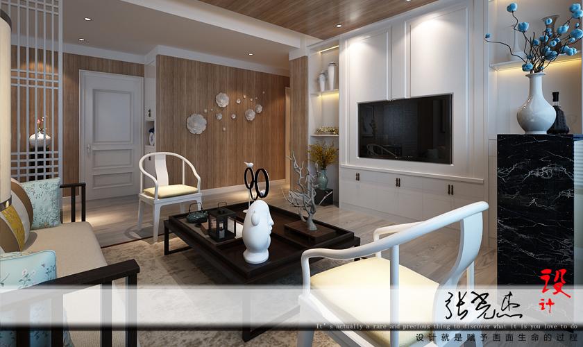 混搭 三居 装修公司 威廉装饰 客厅图片来自青岛威廉装饰在金领世家的分享