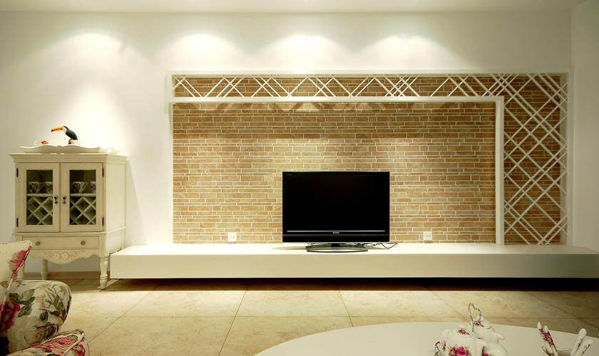 简约 二居 小资 威廉装饰 装修效果图 客厅图片来自青岛威廉装饰在青大人才公寓的分享