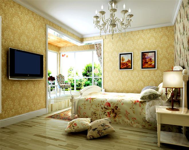 日升装饰 西安日升装 田园 卧室图片来自西安日升装饰在政法大学家属院田园风格140平米的分享