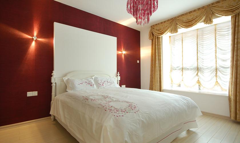 简约 二居 小资 威廉装饰 装修效果图 卧室图片来自青岛威廉装饰在青大人才公寓的分享