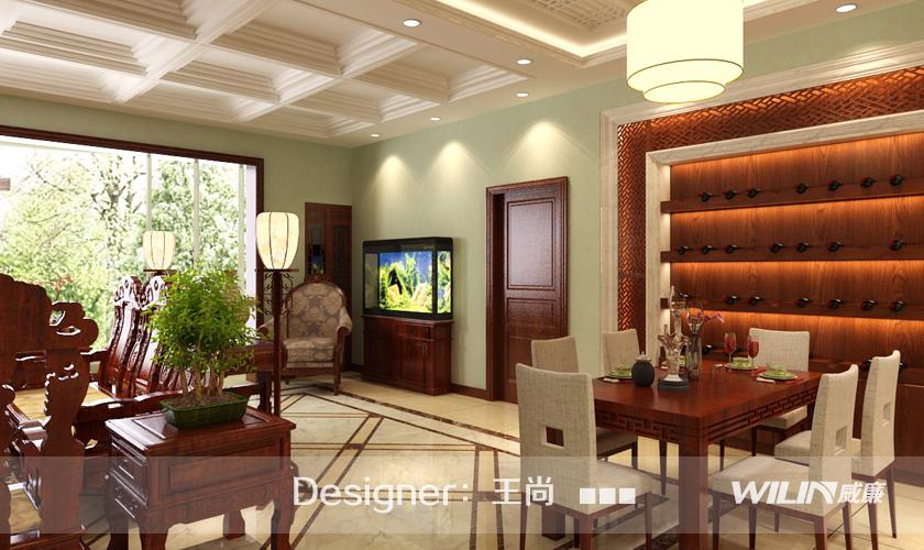青岛装修 装修公司 威廉装饰 装修效果图 玄关图片来自青岛威廉装饰在华侨城2期的分享