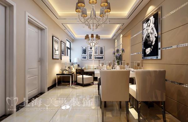 九龙城85平两室两厅现代简约风格装修案例-客餐厅效果图