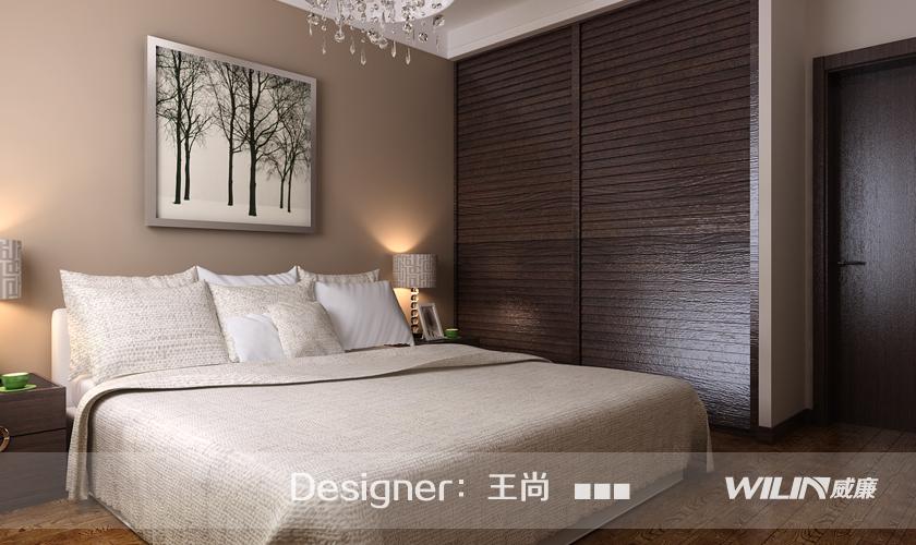 青岛装修 装修公司 威廉装饰 装修效果图 卧室图片来自青岛威廉装饰在保利里院里的分享