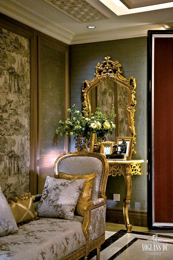 混搭 绿城玫瑰园 尚层装饰 别墅 欧式 80后 客厅图片来自上海尚层装饰官网在绿城玫瑰园别墅装修案例的分享